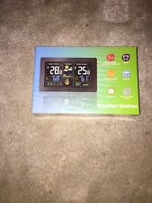 GBlife Wireless Weather Station Indoor Outdoor Thermometer Hygrometer LCD Alarm