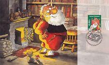 Finland 2005 FDC - Christmas Maxi Card - Santa Claus by Mauri Kunnas - Big Card