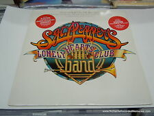 Sgt. Peppers Lonely Hearts Club Band OST 2-LP DJ poster inserts PROMO GOLD STAMP