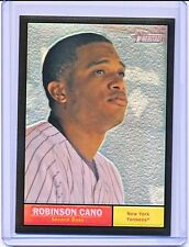 ROBINSON CANO 2010 TOPPS HERITAGE CHROME BLACK REFRACTOR #'D 58/61 (CARD #C117)