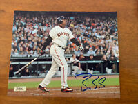 Barry Bonds Hand Signed Autographed 8x10 Photo San Francisco Giants MLB COA
