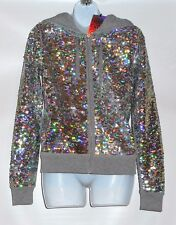 Victoria's Secret Pink Fashion Show Exclusive 2013 Bling Sequin Hoodie XS NWT