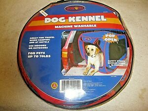 Sport Pet Pop Open Dog Kennel Large for Pets up to 70 lbs. Machine Washable NIP