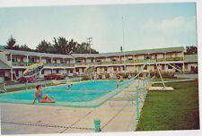 GORHAM NEW HAMPSHIRE NH Mount Madison Motel 1950's - 1960's Car AAA Postcard PC