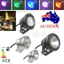 10W LED Underwater Spot Landscape Lights 12V IP67 Garden Fountain Pond Pool Lamp
