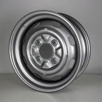 15 Zoll Stahlfelge lackiert 4-Loch ET25 für VW Käfer / Cabrio OE 135601025 VAG