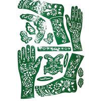 Hot India Mehndi Hand Leg Henna Painted Stencil Art Temporary Tattoo Template