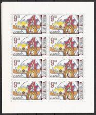 CEPT, Europa 2002 Tschechische Republik, Mi 319 im Kleinbogen, **, KW 10,00€