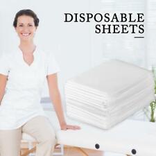 100Pcs Disposable Bed Sheet Non-woven Massage SPA Salon Table Beauty Flat Covers