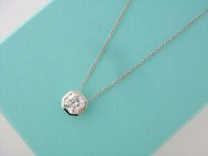 Beautiful Asccher Shape Clear 0.75ct CZ Stone Party & Wedding Pendant Necklace