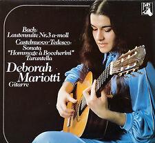 DEBORAH MARIOTTI Bach Castelnuovo-Tedesco Rare Swiss LP Pan 130053 NM