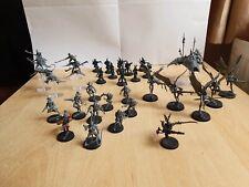 Warhammer 40k drukhari army - Mostly Unpainted With Sprues