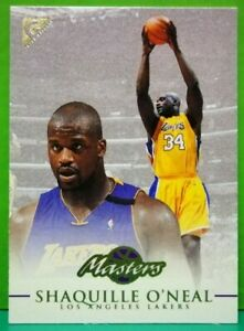 Shaquille O'Neal subset card Masters 1999-00 Topps Gallery #105