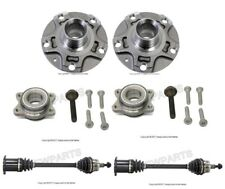 New Audi A4 Set of 2 Front Auto Trans. Axle Shaft & Wheel Hubs with Bearings