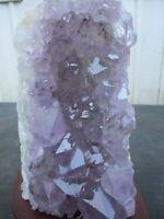SALE! Amethyst Lamp Cluster Geode Crystal Quartz Amethyst Specimen Uruguay Reiki