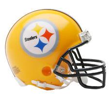 PITTSBURGH STEELERS NFL Riddell VSR-4 ProLine THROWBACK Mini Football Helmet