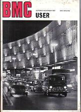BMC User Oct-Nov 1967 J4 M10 Van Mini Nuffield Tractor Seagas JAC Bain Transport