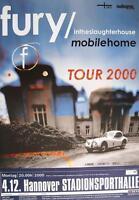 """FURY IN THE SLAUGHTERHOUSE TOUR POSTER / KONZERTPLAKAT """"TOUR 2000"""""""