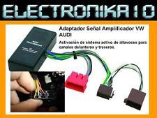 Adaptador SEÑAL AUDIO  AUDI - SEAT - VOLKSWAGEN. Activador amplificador  Activo