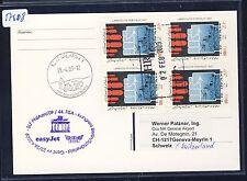 57608) easyjet FISA tan-LP Berlin-ginebra suiza 23.4.2009, card Feeder mail vigente