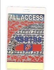 THE ROLLING STONES BACKSTAGE PASS ALL ACCESS 1997 LAMMY
