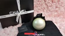 Collector's Piece! CHANEL Novelty Giant Ivory Pearl Bow Kisslock Evening Bag