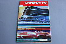 X231 MARKLIN Train catalogue Ho 1970 72 pages 29,7*21 cm F wagon voiture