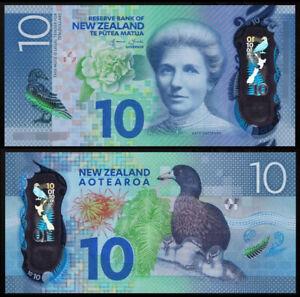 New Zealand 2015 P-192 10 Dollar Polymer UNC