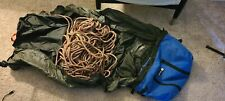 Sterling Rope Evolution VR10 dynamic 70 mm climbing and Metolius Rope Bag