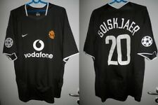 Shirt Manchester United 2003-2004 Solskjaer Norway Nike Jersey Champions League