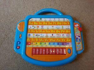 Talking alphabet desk electronic learning preschool keyboard English and Spanish