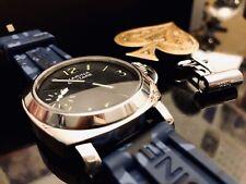 Brand New Panerai Marina Militare PAM 00673 Homage Watch Blue Camouflage RARE