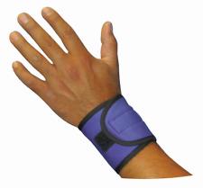 HyperKewl 6573 Evaporative Cooling Wrist Wraps - Blue One Size