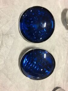 HARLEY DAVIDSON PURSUIT PASSING AUXILIARY LAMPS TOURING POLICE EDITION LENSES