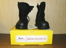 Belleville Hot Weather Steel Toe Safety Boots 14N Leather and Nylon Black NWT