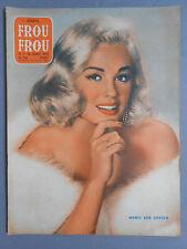 ►FROU-FROU PARIS N°56/1958-PIN-UP SEXY-MAMIE VAN DOOREN-ABBY DALTON-SHEBA SCOTT