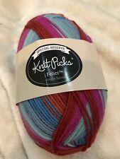 Knit Picks Felici Sock Yarn Merino Wool Nylon Sonora Sunset Discontinued