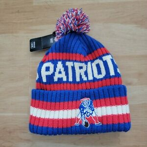 NFL '47 Brand -  New England Patriots Criss Crossed Cuff Knit Beanie Hat NWT