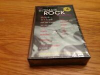 Ultimate Rock Cassette New with Wings, Traffic, Springsteen, Petty, Bad Company