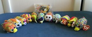 2019 TY Teenys McDonalds Happy Meal Beanie Boos Lot Of 12 Stackable Plush