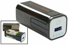 USB BATTERY OPERATED POWER BANK COMPACT PORTABLE FOR SMARTPHONES, TABLETS & MORE