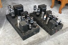 Pair Western Electric era mono tube amps Leslie 30A for Magnavox Field Coil