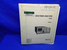 HP 3585A SPECTRUM ANALYZER SERVICE MANUAL VOLUME 1