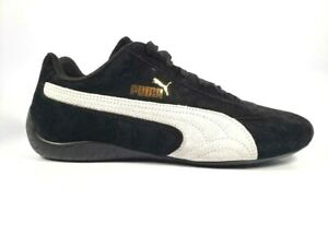 Puma Speed Cat OG SPARCO Sneakers 306794-01 Womens Size 10 Black White