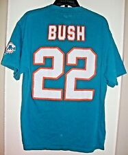 Miami Dolphins Reggie Bush Reebok T-shirt Sz. XL