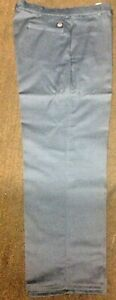100 % Cotton Industrial work pants- Charcoal Grey NWT- Light use