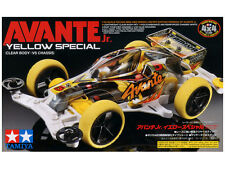 TAMIYA Mini 4WD 1/32 JR Avante Jr. Clear Body - VS Chassis Yellow Special 95060