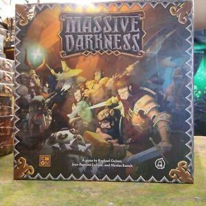 CMON  Guillotine Games MASSIVE DARKNESS Board Game (Core Box) BNIB & Sealed