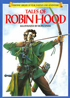 Tales of Robin Hood (Usborne Library of Fear, Fantasy and Adventure S.)