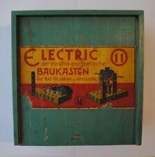 Mewa Electric mit der Gebrauchsanleitung. Baukasten. Physik. Elektrobaukasten